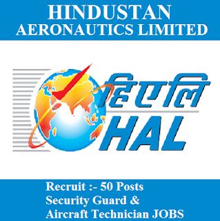 Hindustan Aeronautics Limited, HAL, 10th, ITI, Security Guard, Technician, Karnataka, freejobalert, Sarkari Naukri, Latest Jobs, hal logo