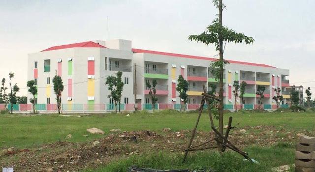 Trường Mầm non sắp khai trường tại chung cư Thanh Hà