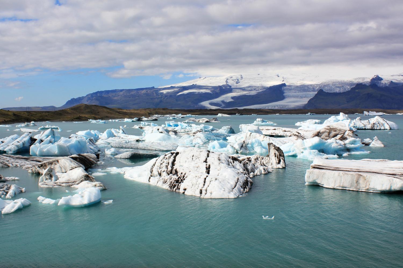 Jökulsárlón, lago con icebergs en Islandia