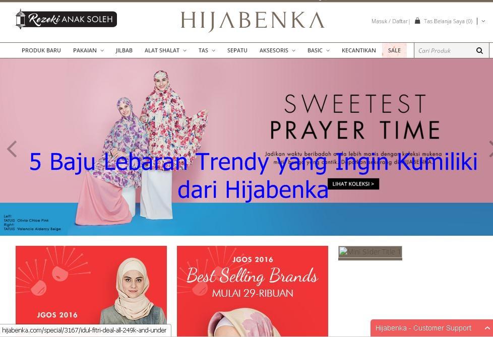 5 Baju Lebaran Trendy Yang Ingin Kumiliki Dari Hijabenka Ery Udya S Blog