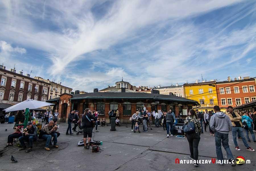 Plaza Nowy en Kamizierz, Cracovia
