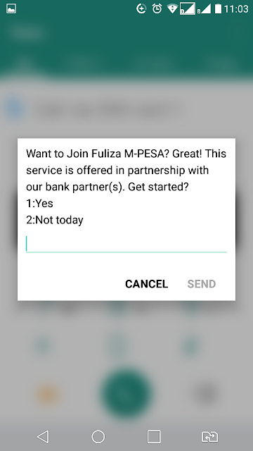 how to apply for Fuliza M-pesa loan