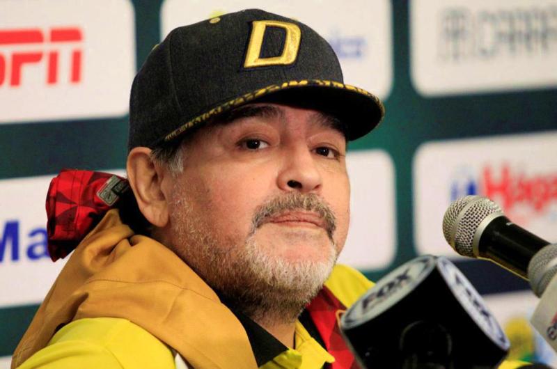 Maradona, operado con éxito por un sangrado estomacal