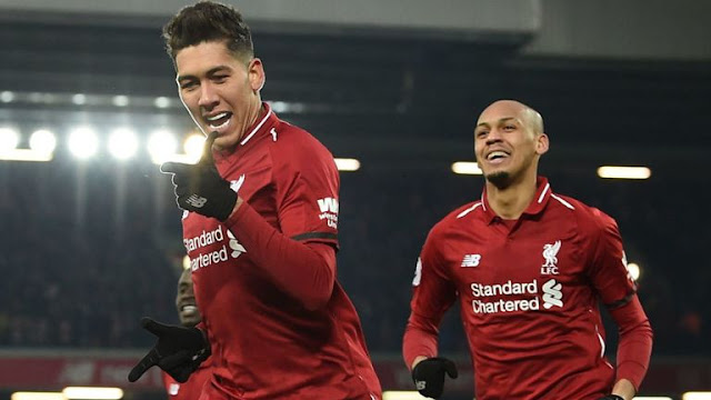 Roberto Firmino Scores Liverpool Vs Crystal Palace