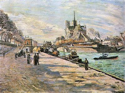 Armand Guillaumin, Notre Dame de París