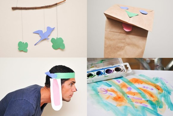 Cute Crafts For 3 Year Olds