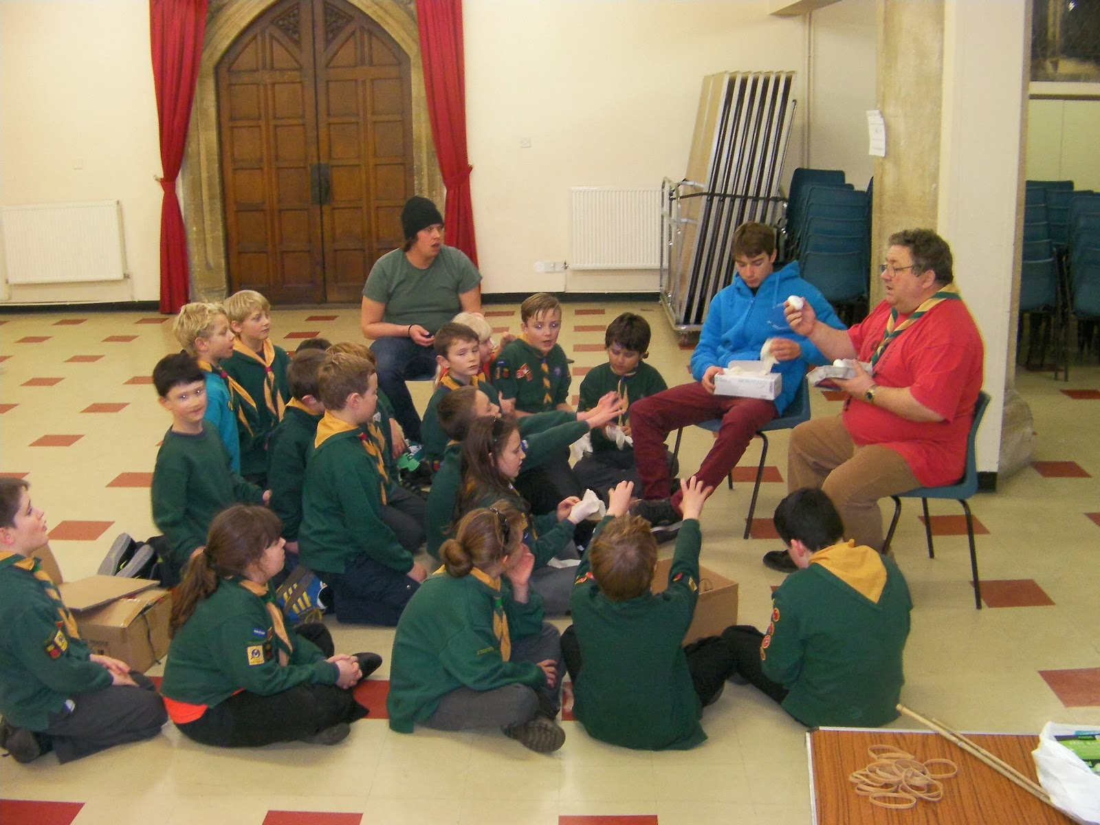 scout meeting in church hall milton 5th portsmouth
