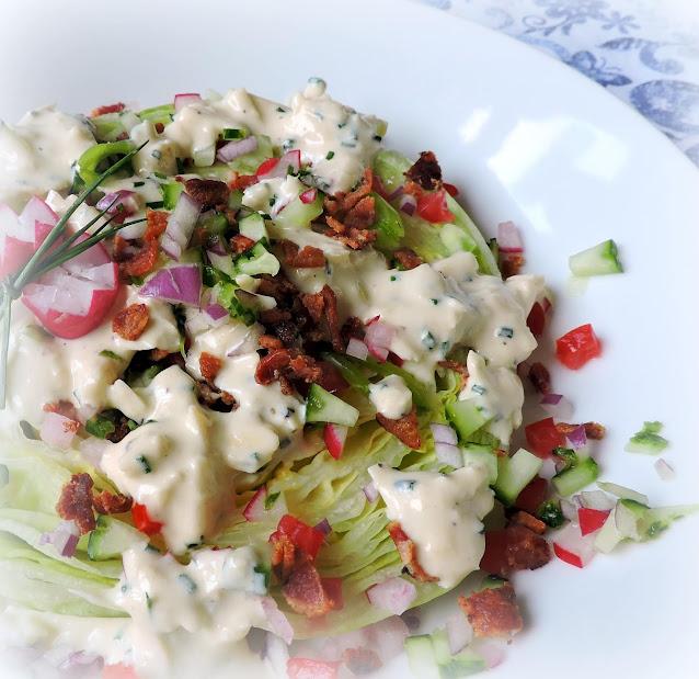 Cheddar Dressed Lettuce Steaks