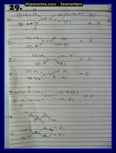Isomerism Notes12