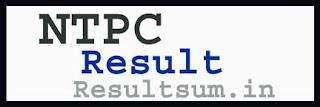 NTPC Result 2015
