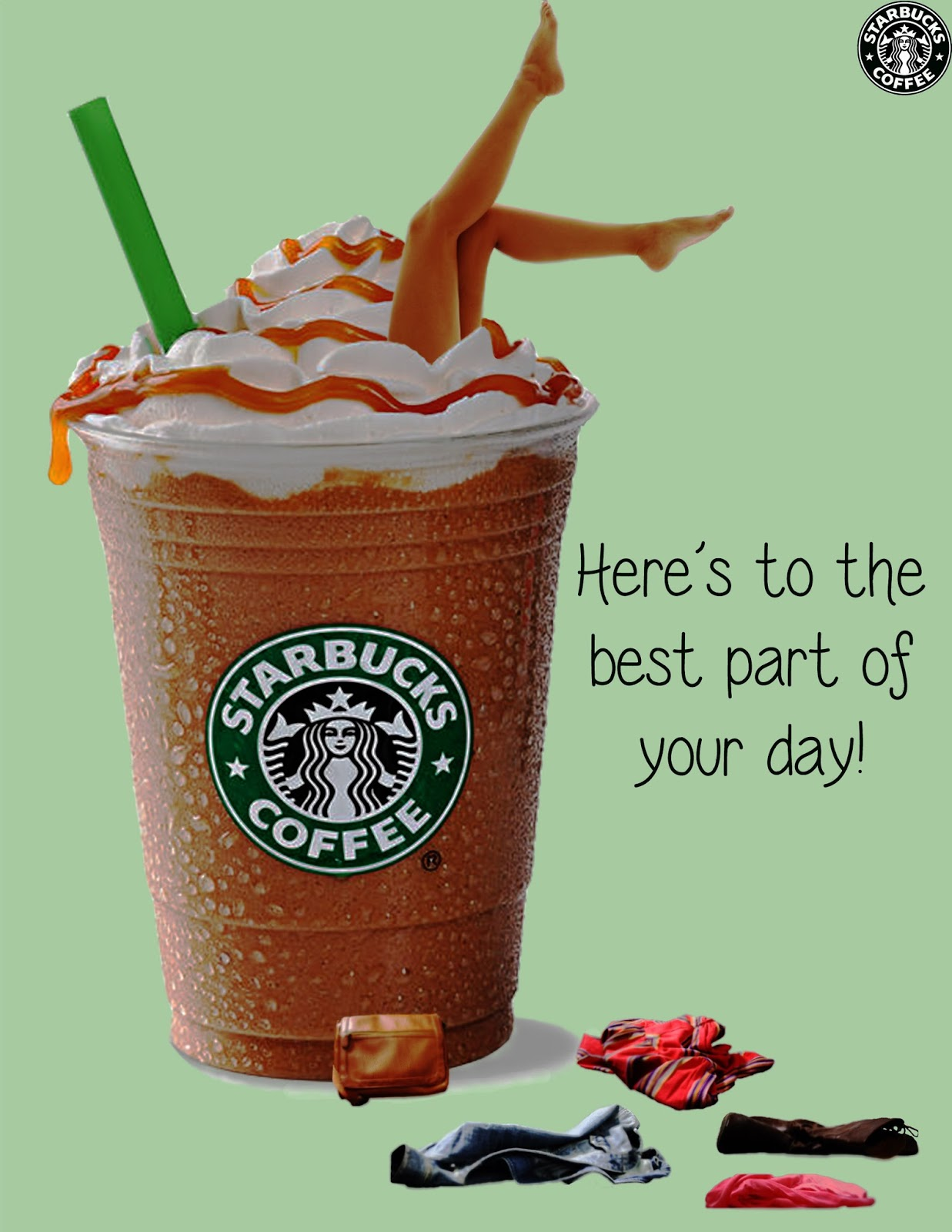 Starbucks marketing and sales department