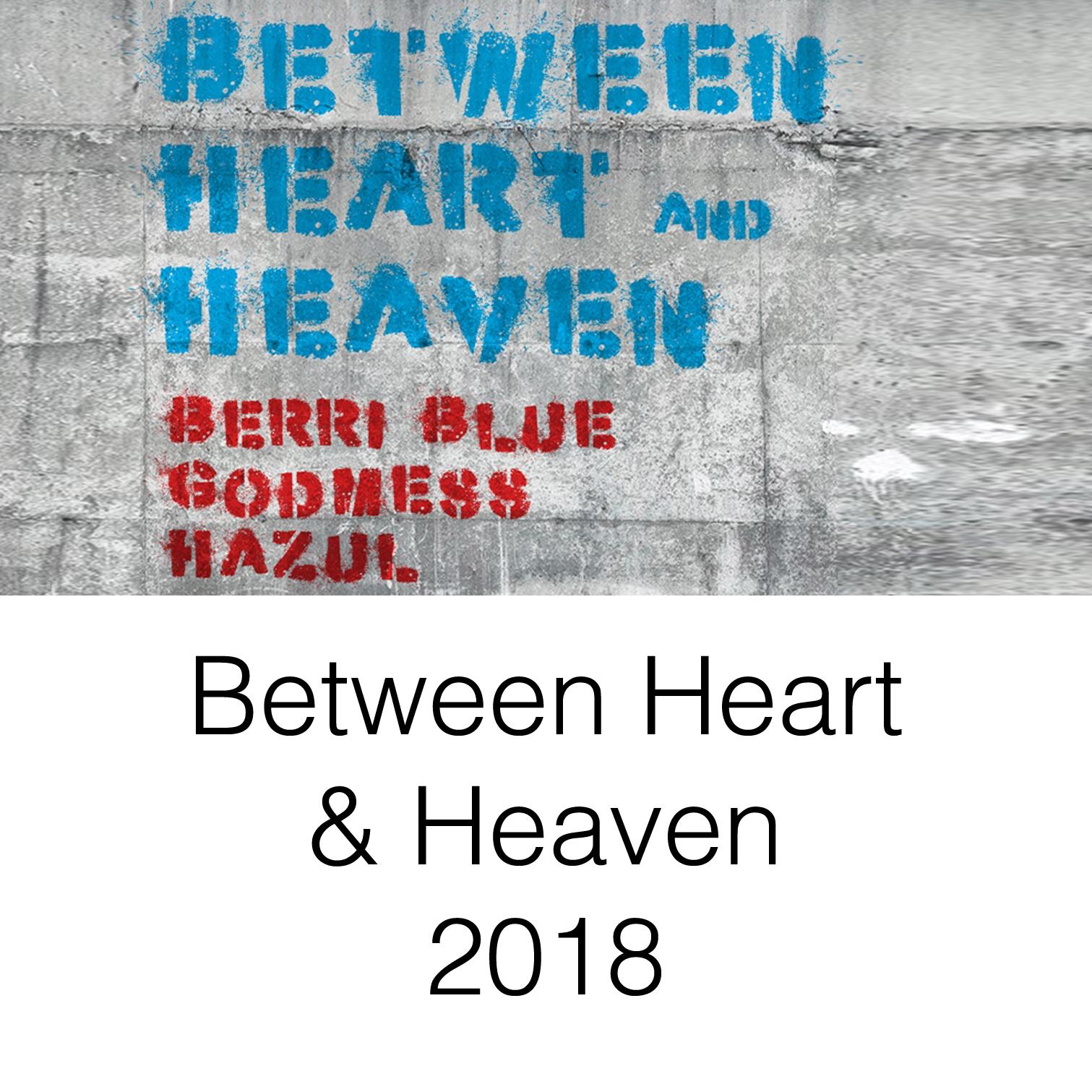 Between Heart Heaven Exhibition Berriblue Hazul Godmess Painting Wood DaVinci