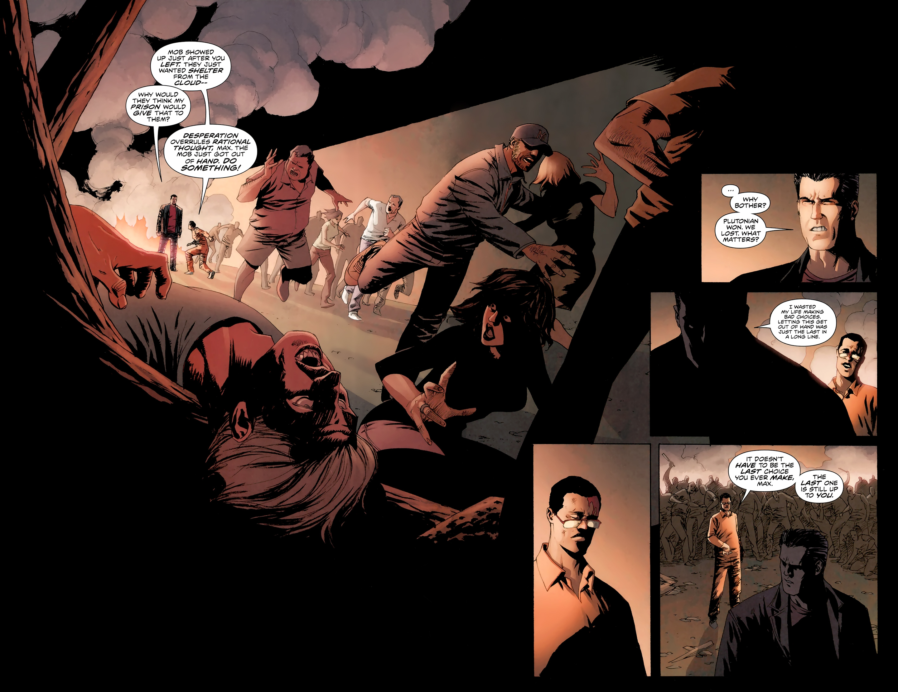 Read online Incorruptible comic -  Issue #30 - 5