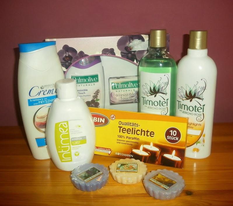 Grudniowe zakupy: ciało, włosy, zapachy