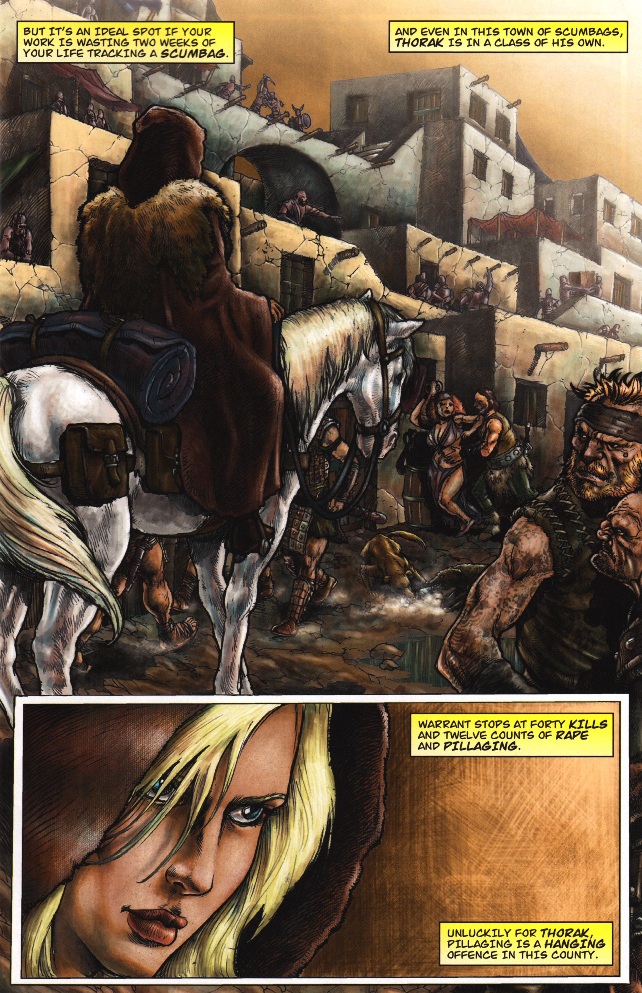Read online Arhian: Head Huntress comic -  Issue #1 - 5
