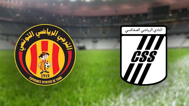 ES Tunis VS CS Sfaxien