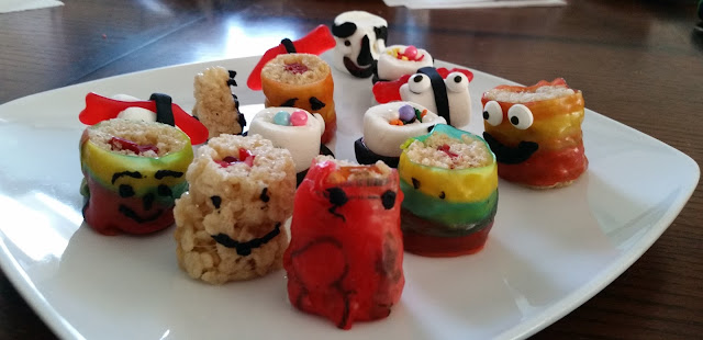 Something About Me Saturday:  Making Candy Sushi With My Daughter --How Did I Get Here? My Amazing Genealogy Journey