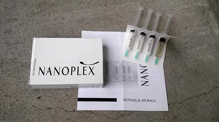 Nanoplex zabieg regenerujący włosy suche i zniszczone