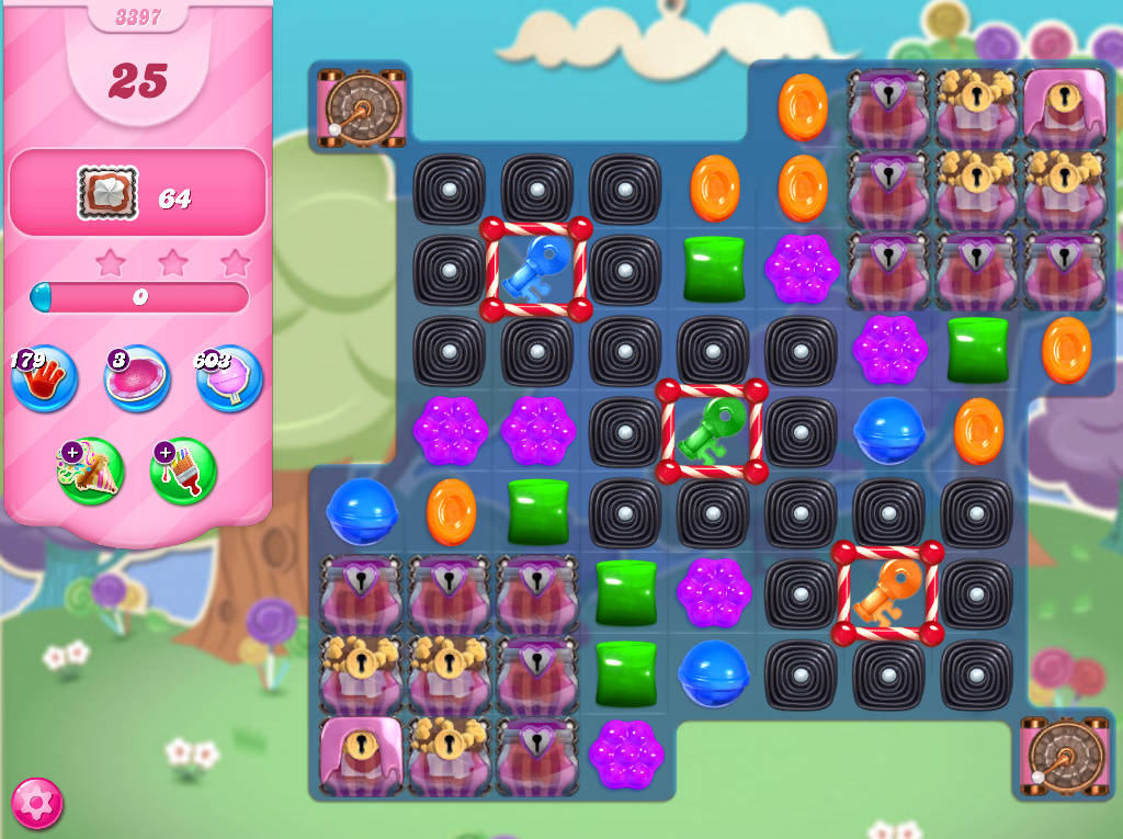 Candy Crush Saga level 3397