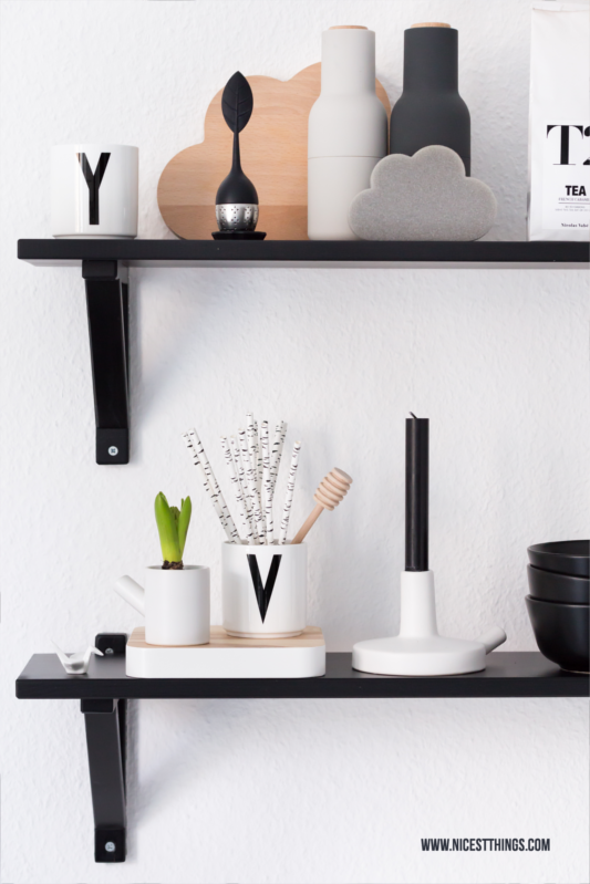 Kitchen Shelf with Catherine Lovatt Ceramics