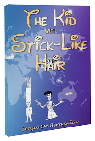 The Kid with Stick-Like Hair by Sergio De Bernardin