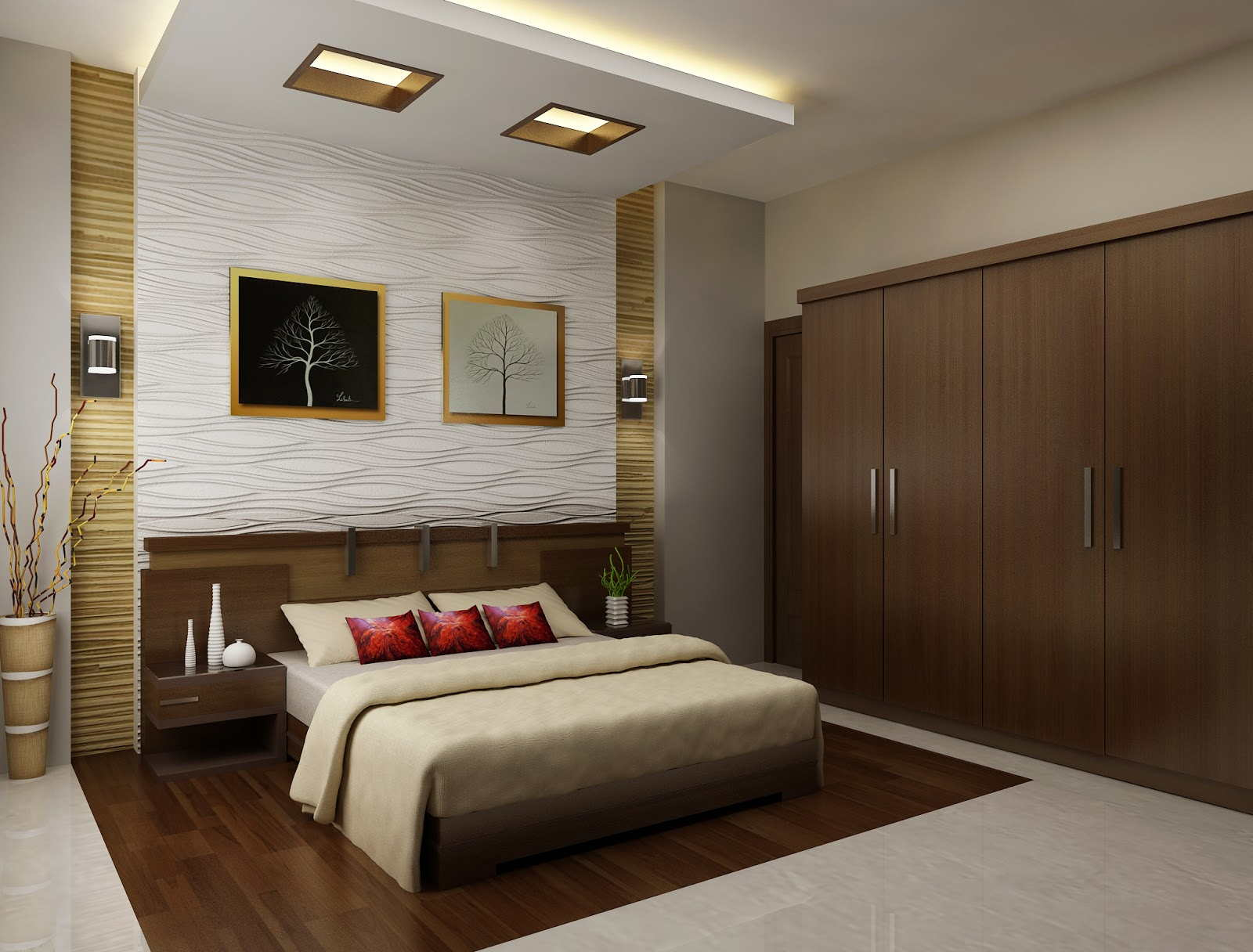 astounding bedroom wall interior design | 11 Attractive bedroom design ideas that will make your ...