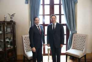 Juan Carlos Varela y Marco Rubio hablan de Venezuela y de nexo bilateral