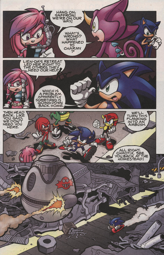 Read online Sonic The Hedgehog comic -  Issue #189 - 25