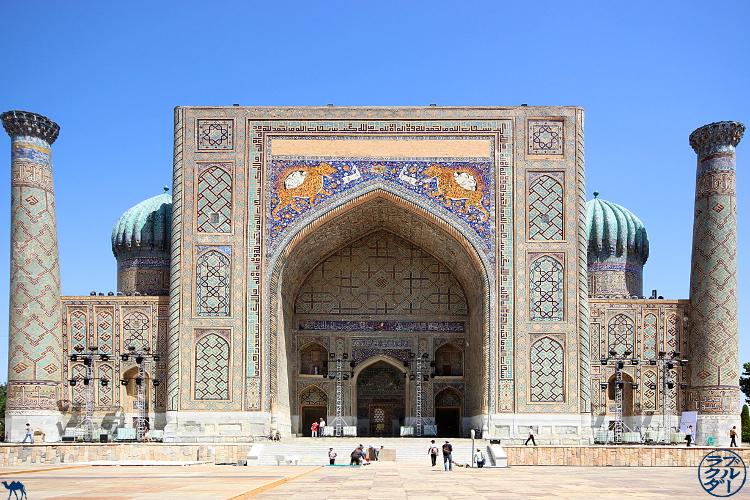 Le Chameau Bleu - Blog Voyage Ouzbékistan - Le Registan à Samarcande - Asie Centrale