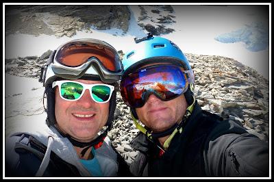 monoski grefzy glacier de la Grande Motte