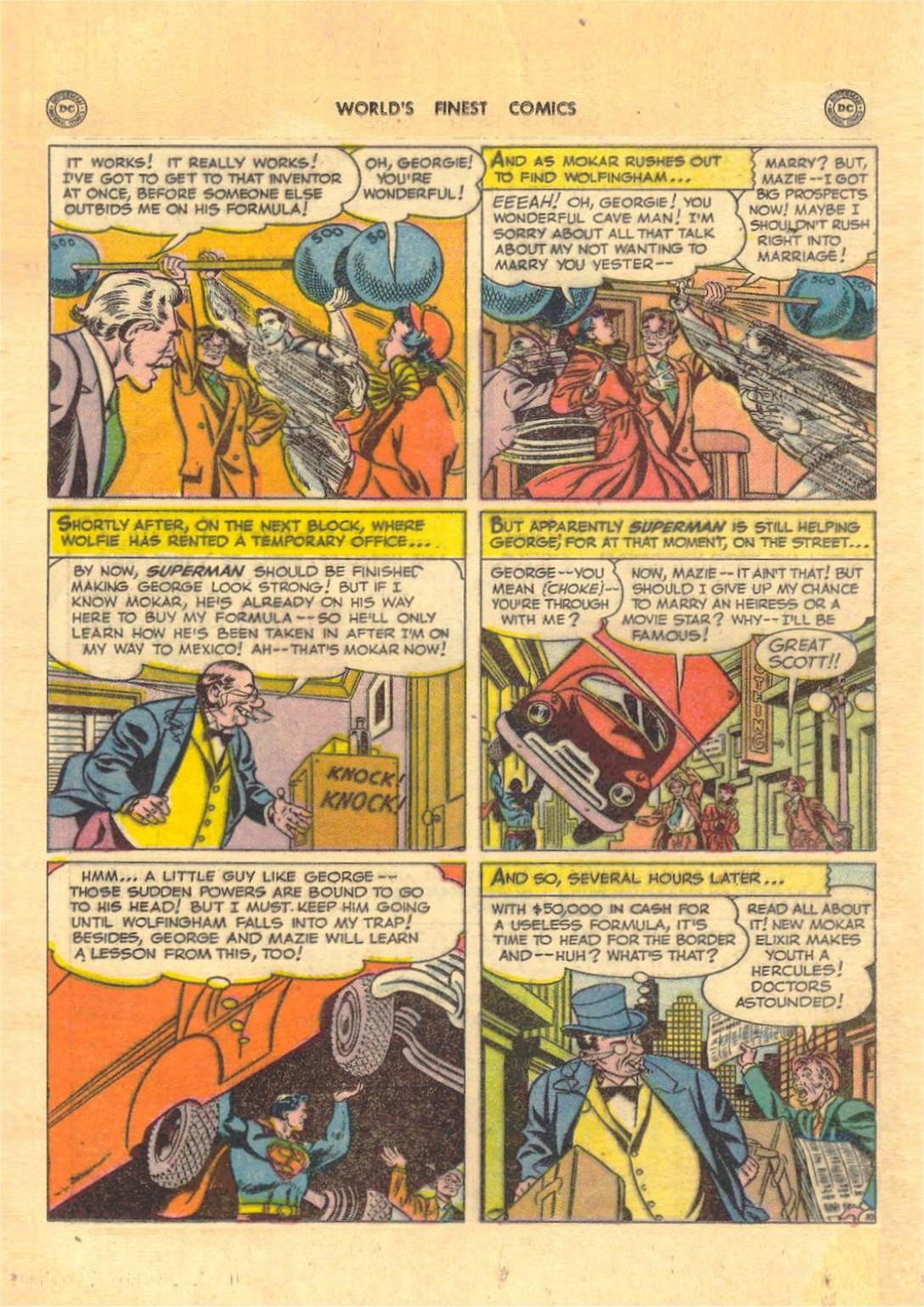 Read online World's Finest Comics comic -  Issue #52 - 12