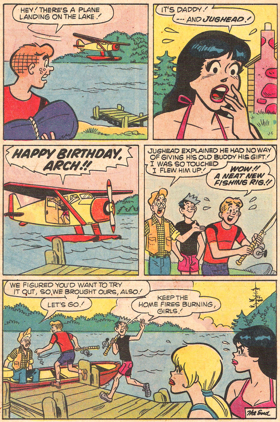 Read online Archie's Girls Betty and Veronica comic -  Issue #274 - 8