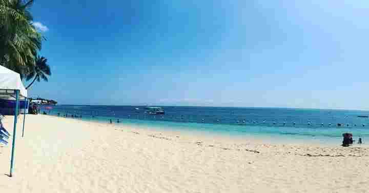 Best and famous Beaches in cebu Tingko Island white beach cebu philippines 2018 better than palawan