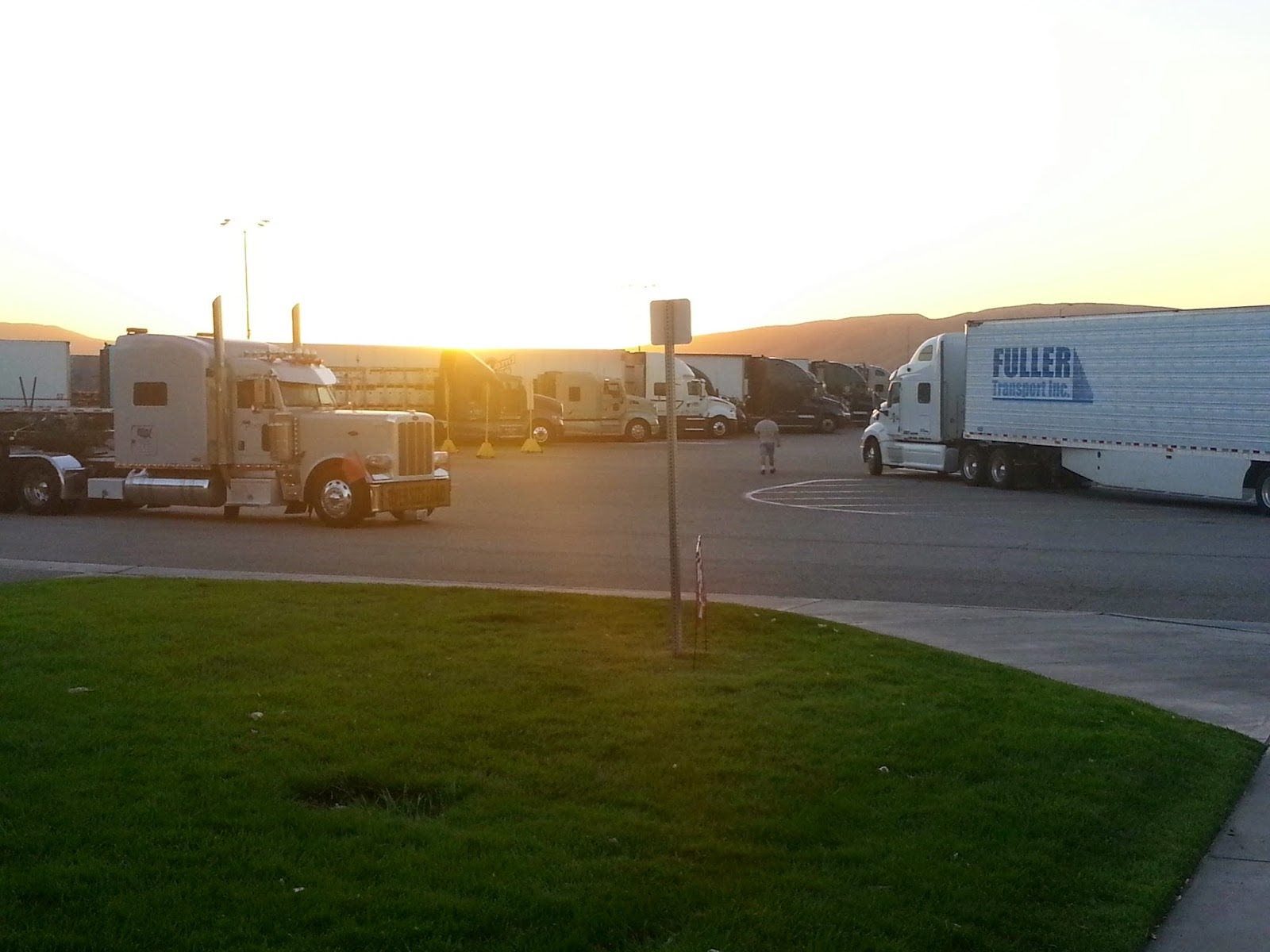 Ta truck stop in ontario california