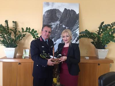 ΔΕΛΤΙΟ ΤΥΠΟΥ Π.Ε.ΠΙΕΡΙΑΣ:Επίσκεψη του νέου Γενικού Περιφερειακού Αστυνομικού Διευθυντή Κεντρικής Μακεδονίας στην Αντιπεριφερειάρχη Πιερίας