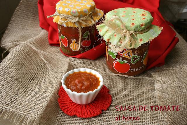 Salsa de tomate casera al hono