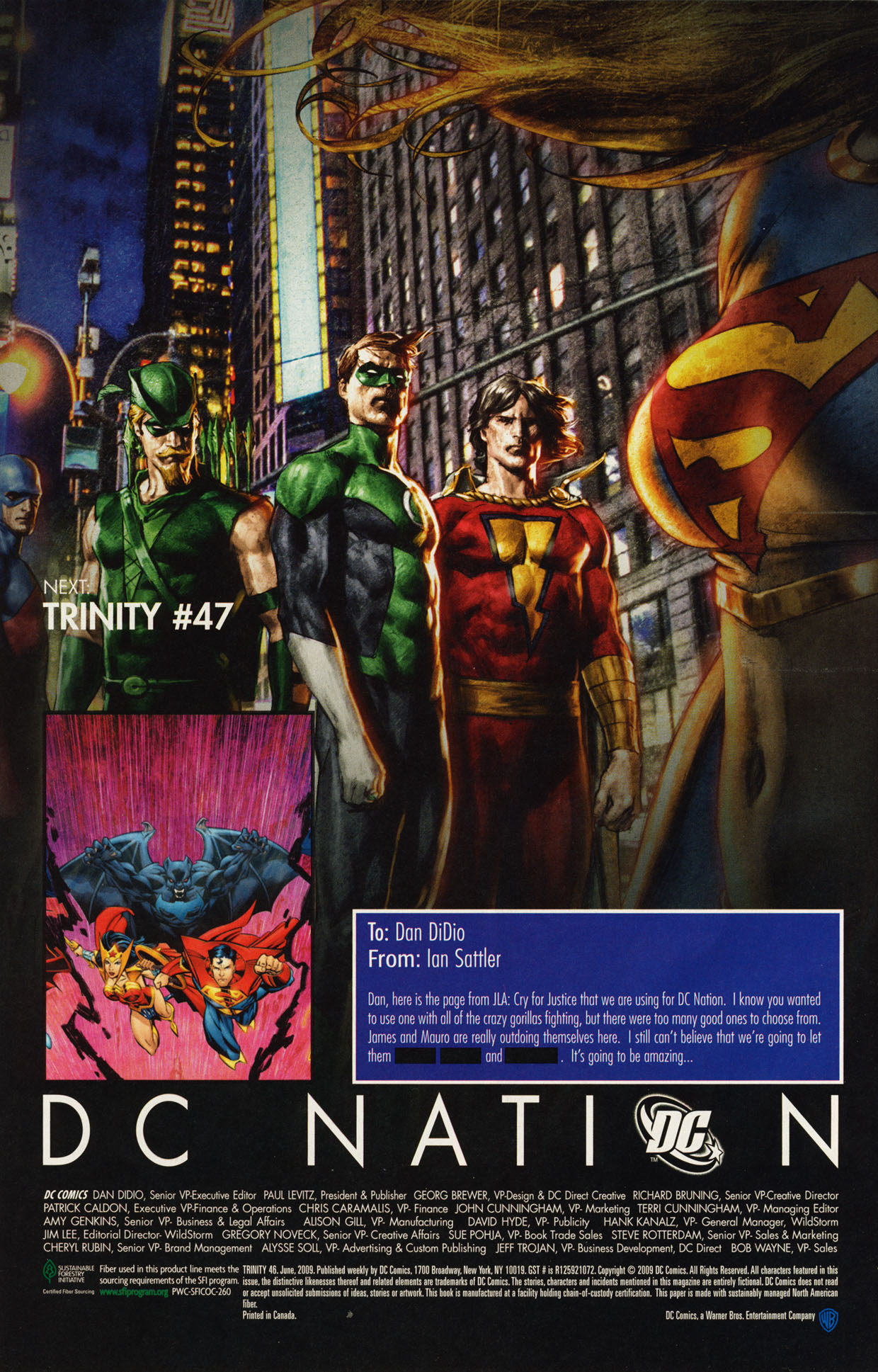 Read online Trinity (2008) comic -  Issue #46 - 33