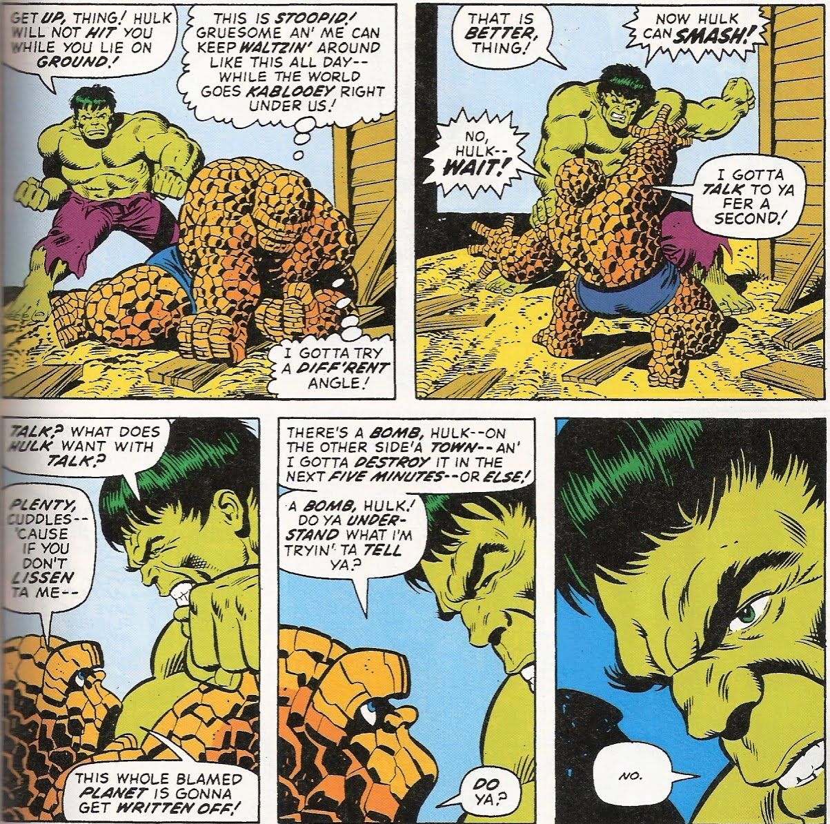 Buckler hulk newspaper strip