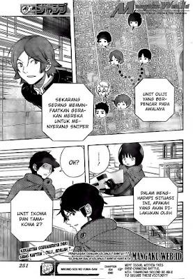 Baca Manga Komik World Trigger Chapter 155 Bahasa Indonesia