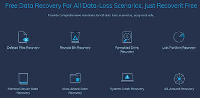 تحميل برنامج Recoverit أفضل برنامج لإستعادة الملفات المحذوفة