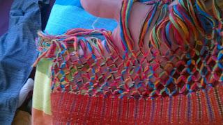 X-ti artisan rebozo artisanal mexique portage amérique sud