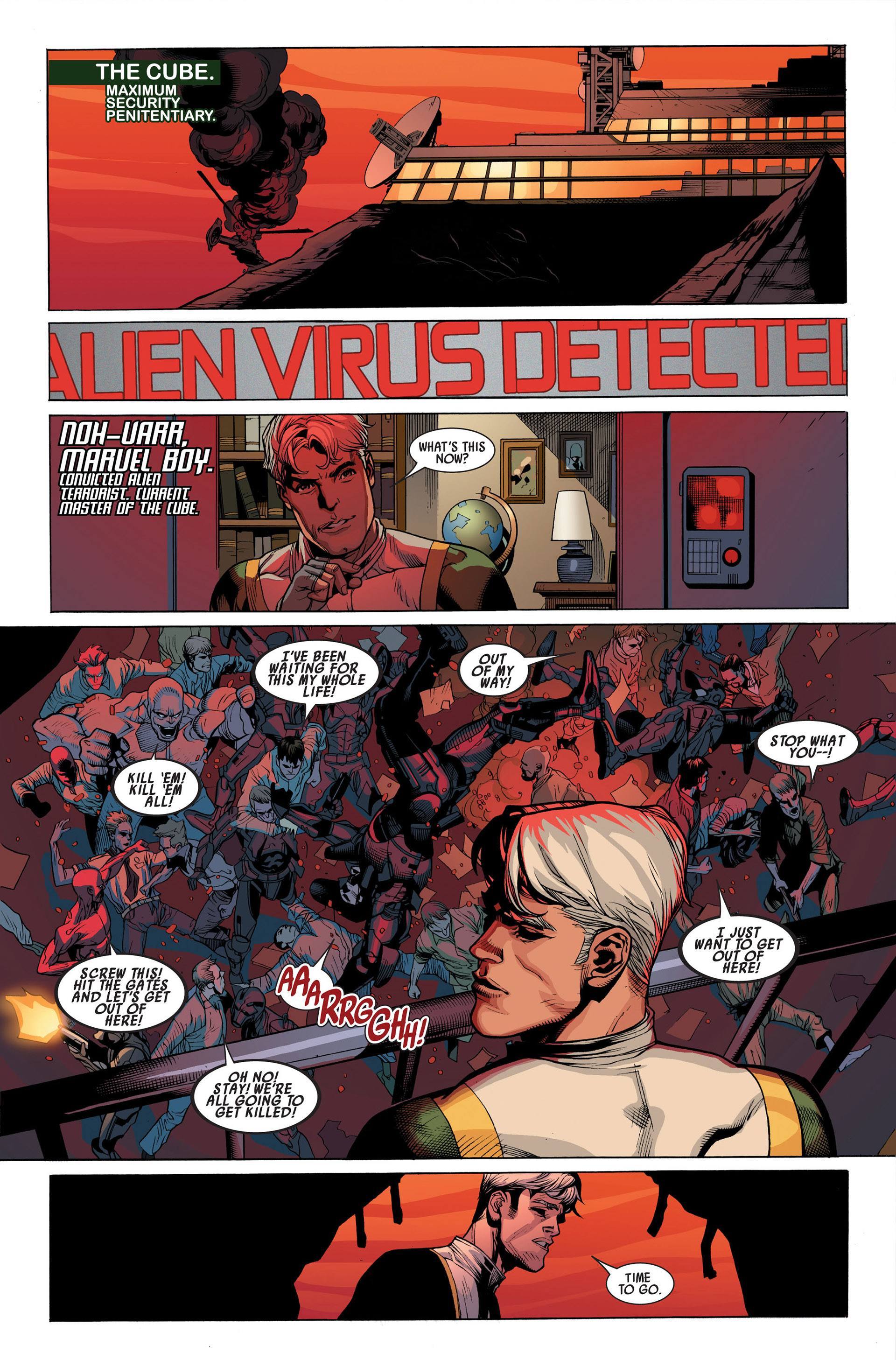 Read online Secret Invasion comic -  Issue #1 - 25