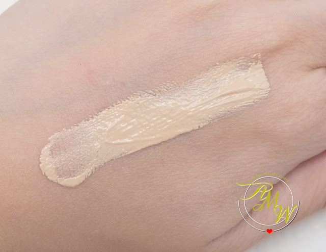 a swatch photo of  Flormar HD Invisible Cover Foundation Review by Nikki Tiu www.askmewhats.com