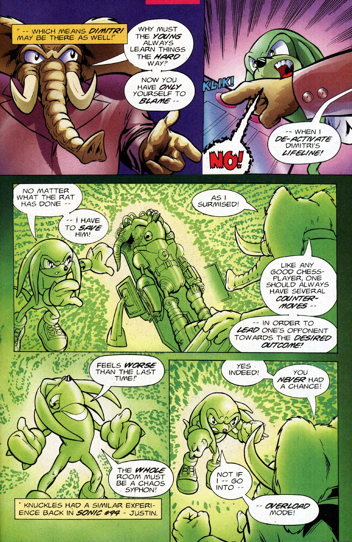 Read online Sonic The Hedgehog comic -  Issue #118 - 22