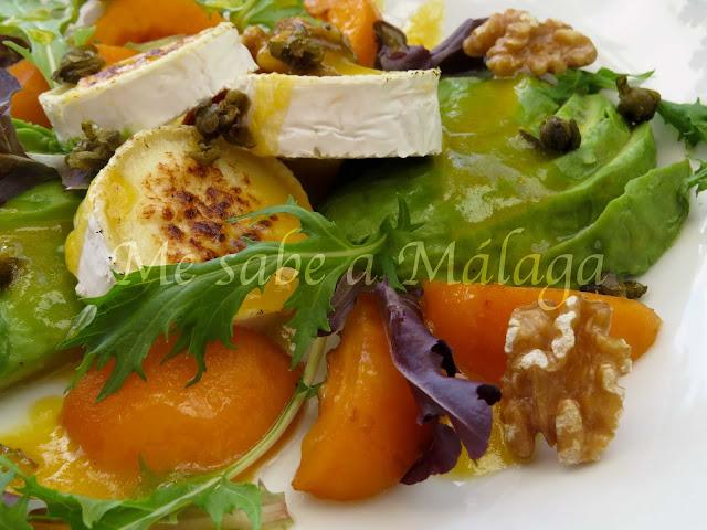 receta ensalada Axarquía malagueña