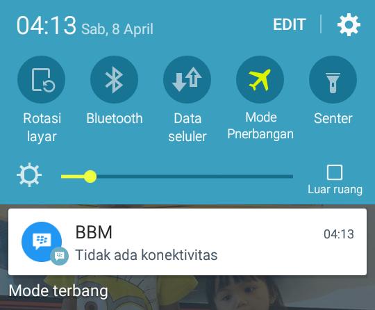 Solusi Jika Jaringan Smartphone Android Hilang/Down