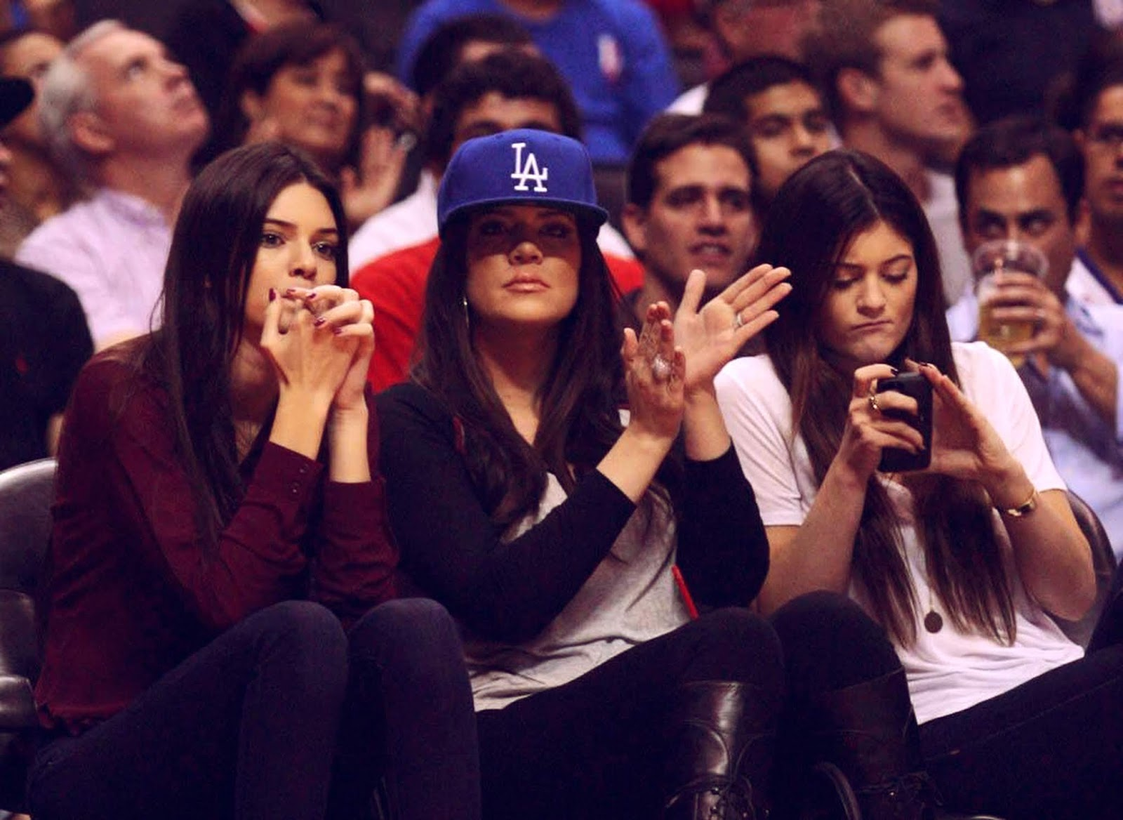 08 - Watching The Los Angeles Clippers Game on October 17, 2012