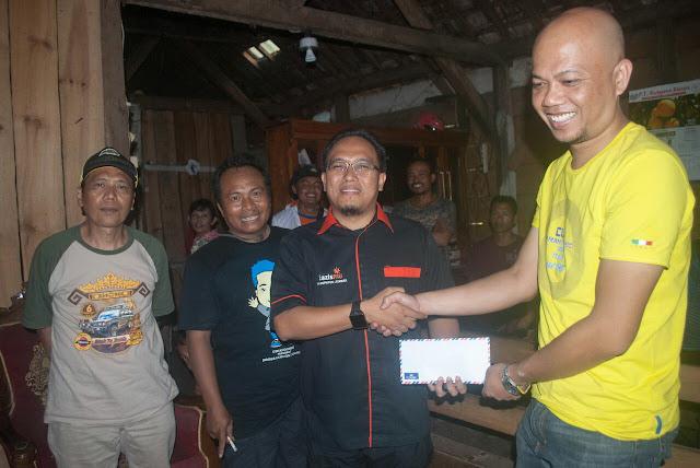 Donasi dari Relawan Cirebon