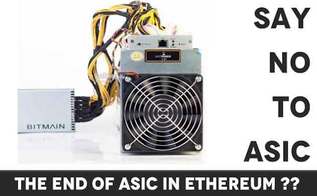 ETH code change will remove ASIC and FPGA out of Mining