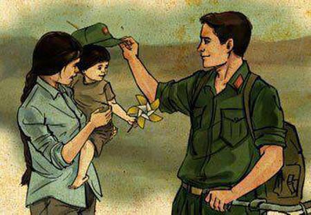 """""""Lấy chồng bộ đội"""" câu chuyện giúp các bạn thêm động lực để yêu người lính"""